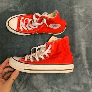Red Chuck Taylor All Stars